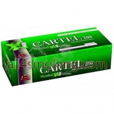 Tuburi tigari Cartel mentol+carbon