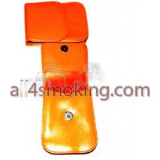 ETUI piele(portocaliu)