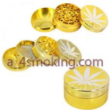 GRINDER GOLD CU FRUNZA M.