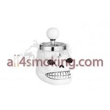 Scrumiera craniu(alb)