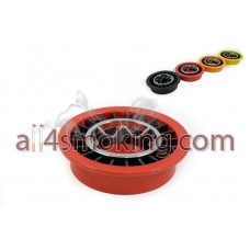 Scrumiera ruleta smokeless color