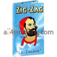 Foite ZIG ZAG albastru (dublu)