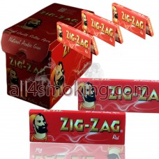 Foite zig zag red(50)