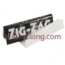 Foite ZIG ZAG negru