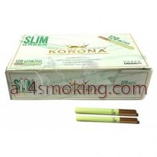 Tuburi tigari korona slim green
