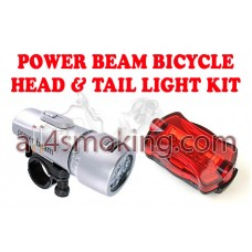 Kit  lanterna + stop bicicleta